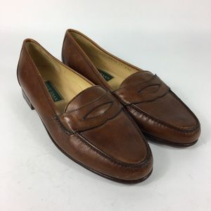 Cole Haan Brown Men's US 11 W Wide Leather loafers